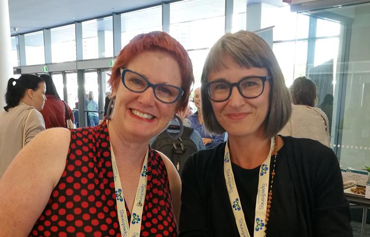 Jo Watson ja Katja Burakoff